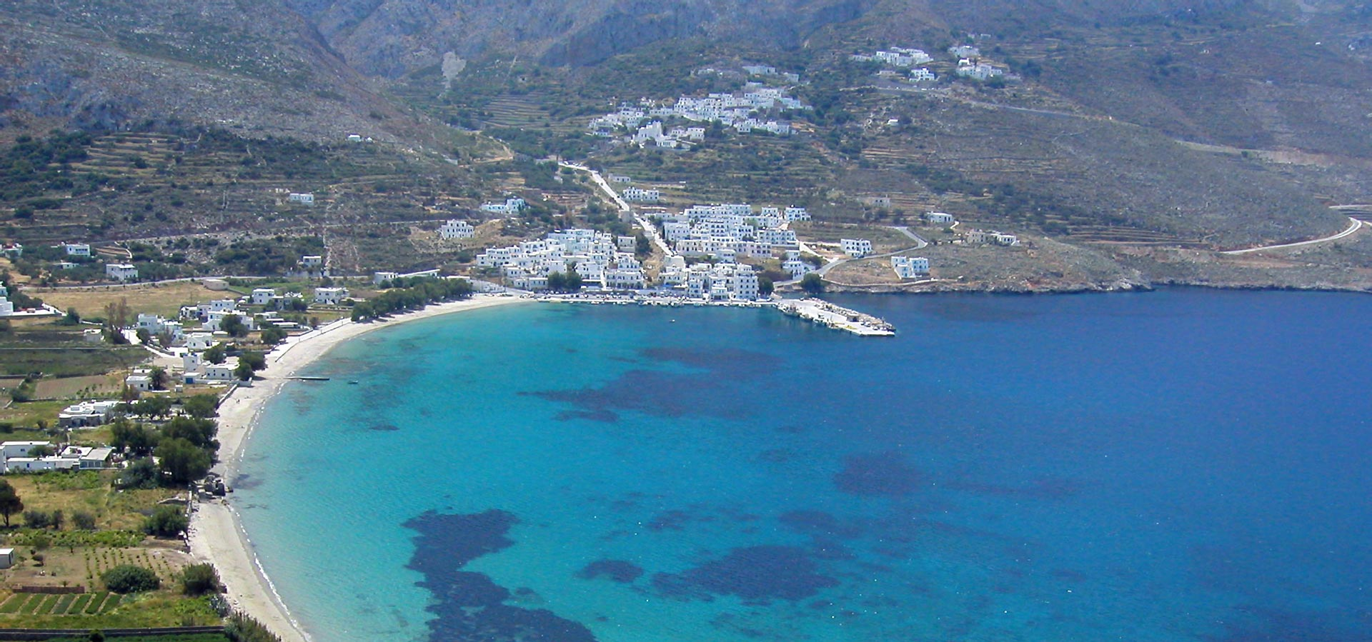 Travel to Amorgos Map Beaches Attractions